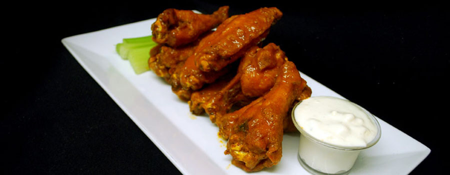 Dive Bar and Restaurant Wings